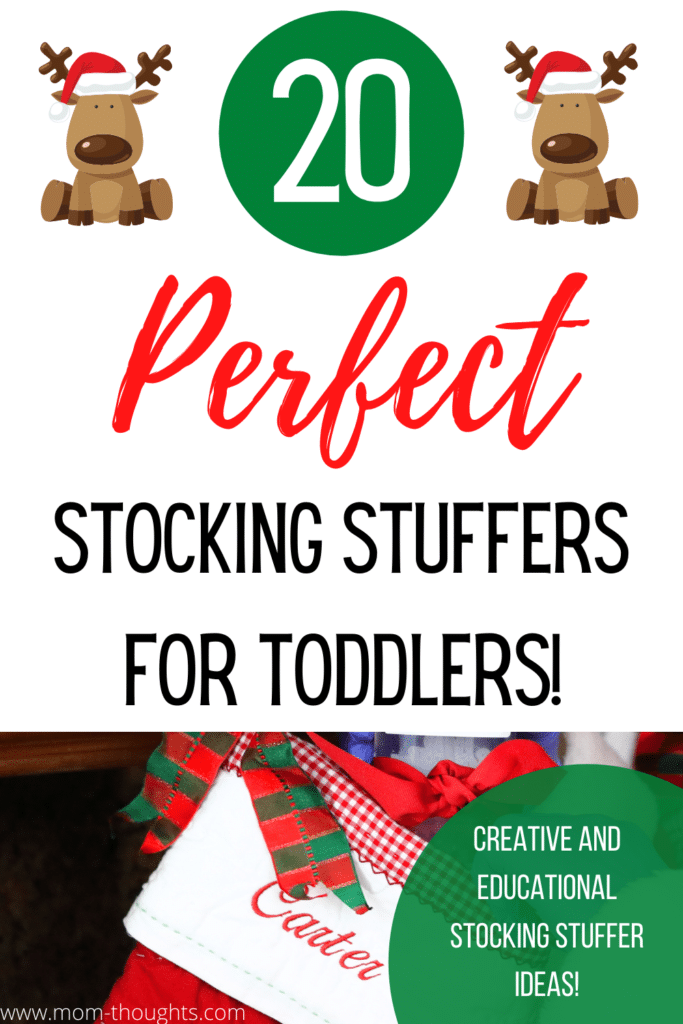 Stocking stuffers for toddlers | best stocking stuffers for toddlers | educational stocking stuffers for toddlers | creative stocking stuffers for toddlers | practical stocking stuffers for toddlers | wearable stocking stuffers for toddlers | fun stocking stuffers for toddlers | affordable stocking stuffer ideas for toddlers | stocking stuffer ideas | what to put in a toddlers stocking | what do you put in a toddlers stocking