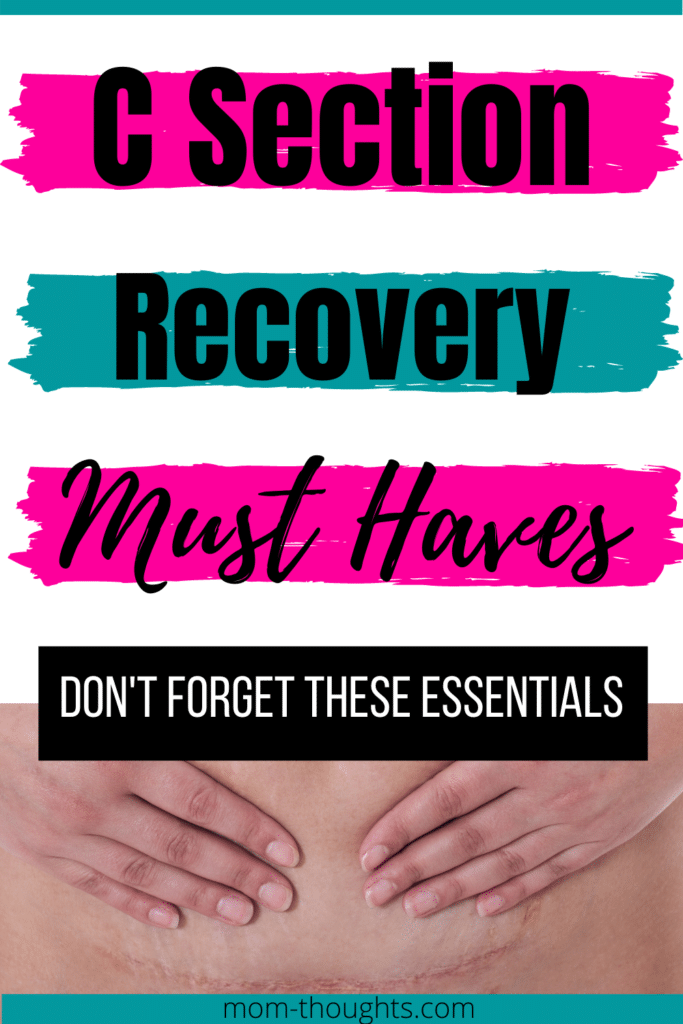 C section recovery must haves | recovering from a c section | c section recovery survival kit | c section recovery kit | how to recover from a c section quick