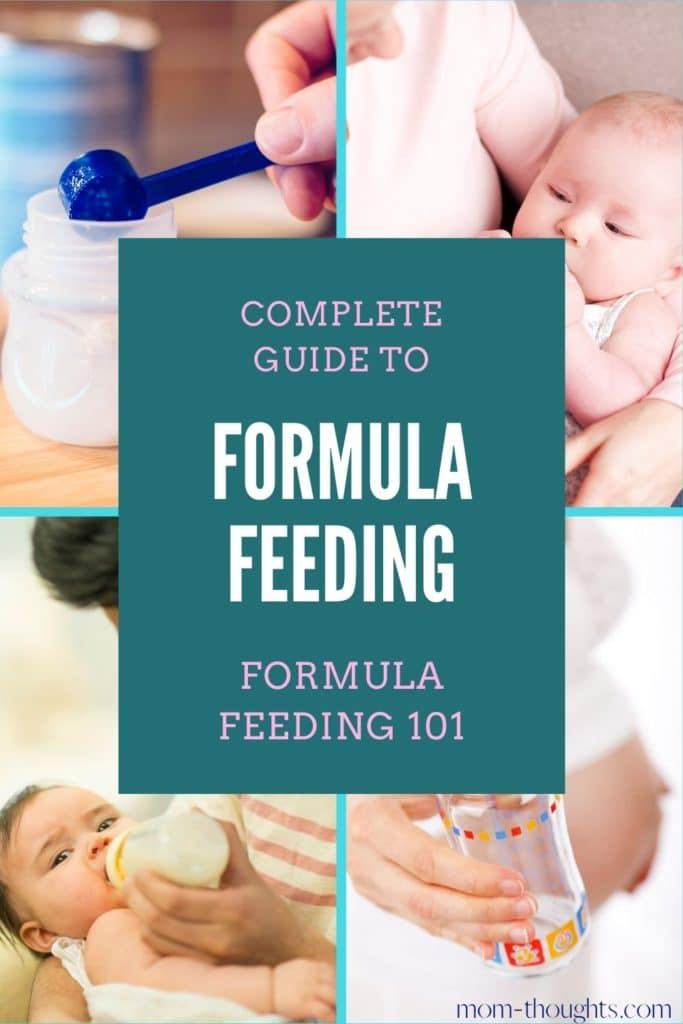 Formula feeding tips for new moms, including frequently asked questions, common mistakes, the benefits of formula feeding, and must have items.