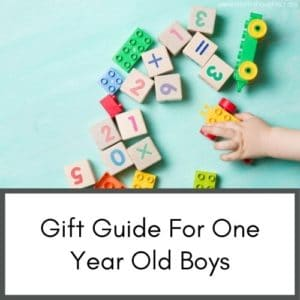 gift ideas for one year old boys