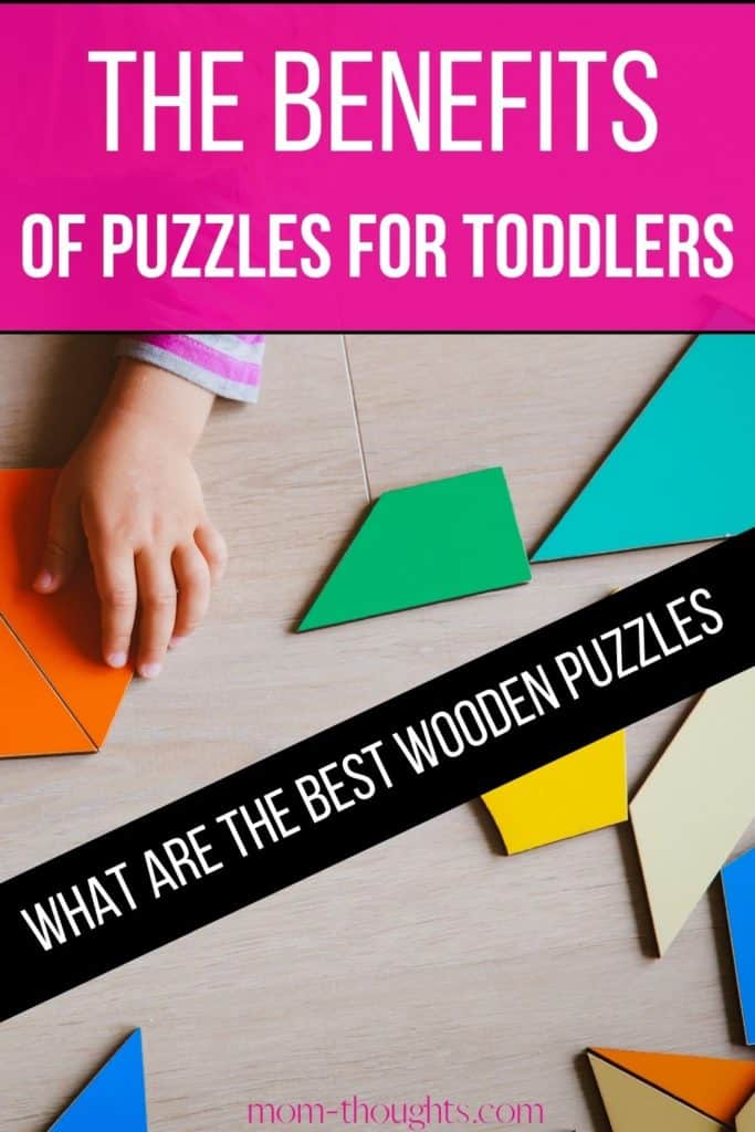 This post includes the BEST wooden puzzles for toddlers that are both fun and educational! These wooden puzzles for toddlers are great for toddler's brain development, fine motor skills and memory building!