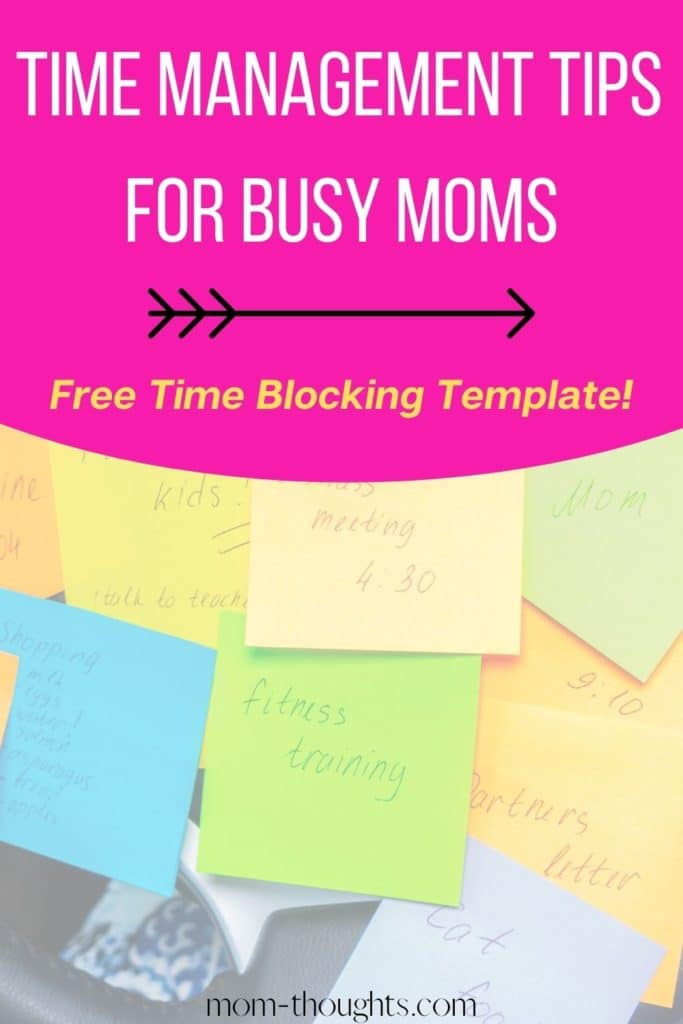 These time management tips for working moms will help you do more and stress less!
