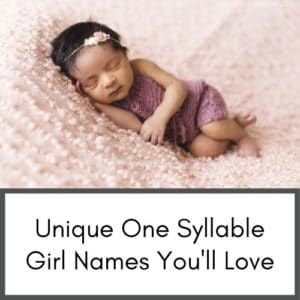 one syllable girl names and other great resources for new moms on infants and toddlers