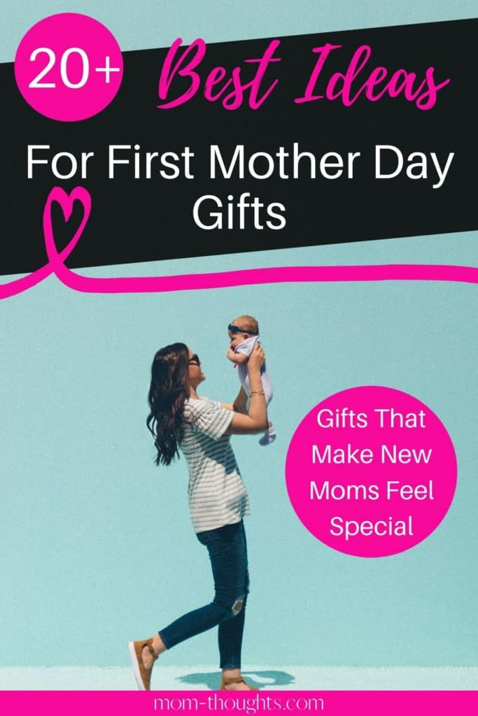 This post has the BEST First Mothers Day gift ideas to make mom feel special! It includes gifts for moms that she will actually want, and that will help her day to day. So if you're wondering what to get a new mom for mothers day, check this post out.