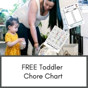 Free toddler chore chart printable. This site has great tips for new moms.